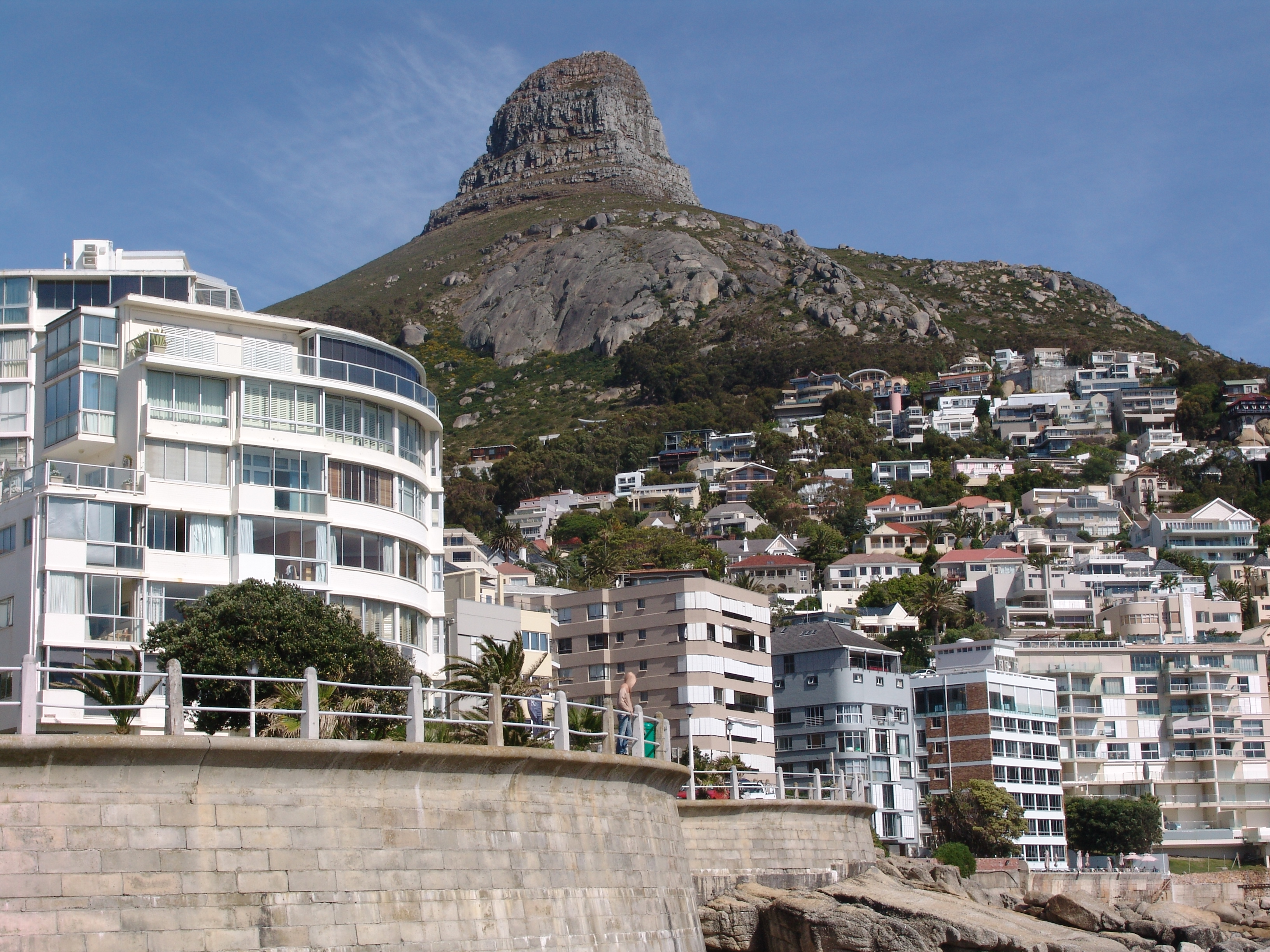 Lions Head With The Bantry Bay Promenade In Foreground