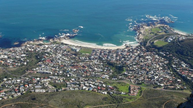 Camps Bay from above