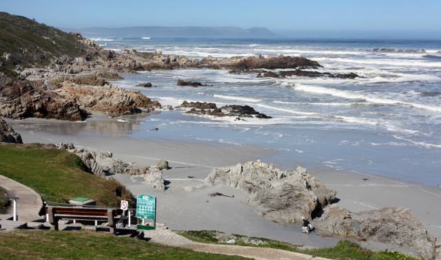 Voelklip Beach in Hermanus
