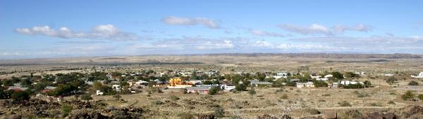 Keetmanshoop town in Namibia