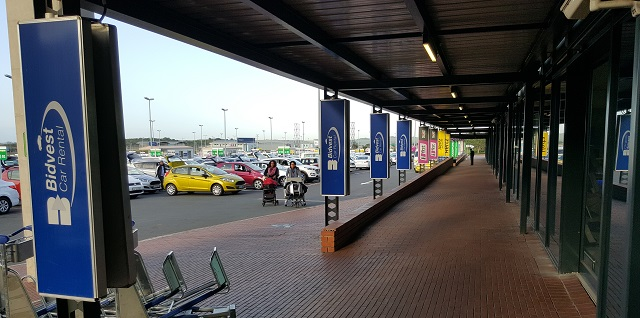 Bidvest Car Hire at Durban's King Shaka International Airport