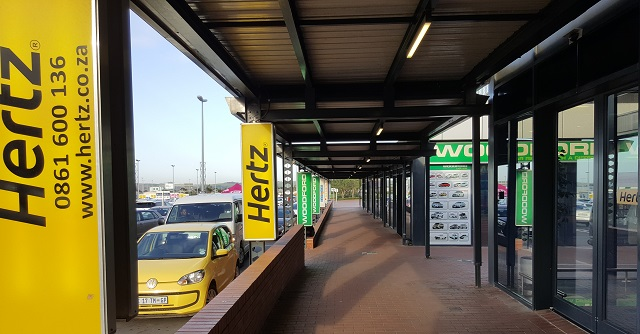 hertz car hire at king shaka airport