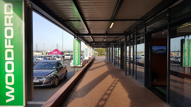 Woodford Car Hire's office at Durban's King Shaka International Airport (DUR)