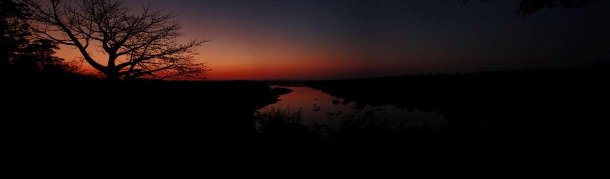 sunrise at Chilo Gorge in Zimbabwe