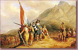 Jan van Riebeeck voyage