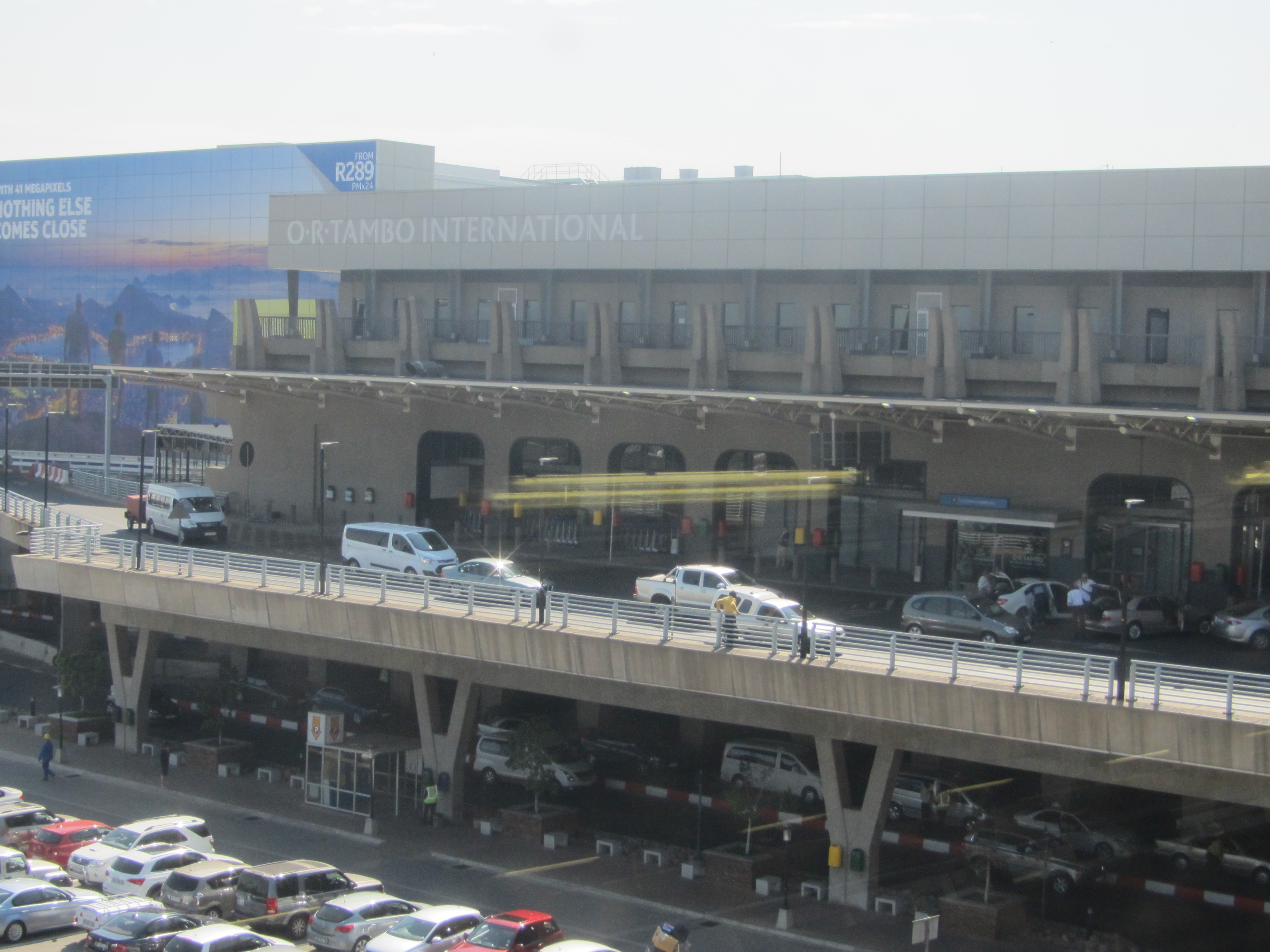 OR Tambo International view from outside