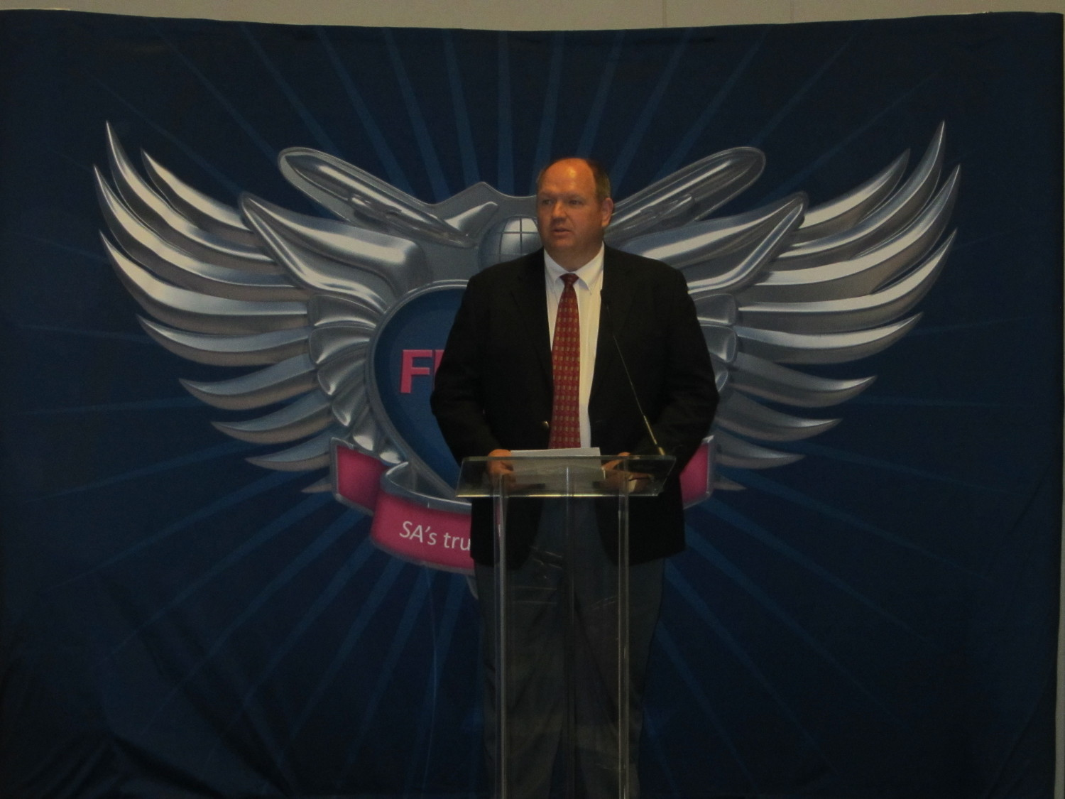 FlySafair CEO Dave Andrew