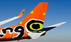 Mango Airlines Plane Tail
