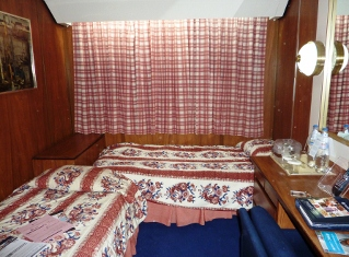 Two berth inside cabin on the MSC Melody