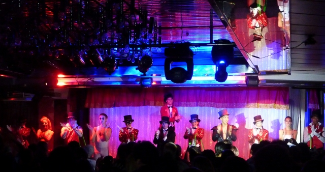 The Circus Show onboard MSC Melody