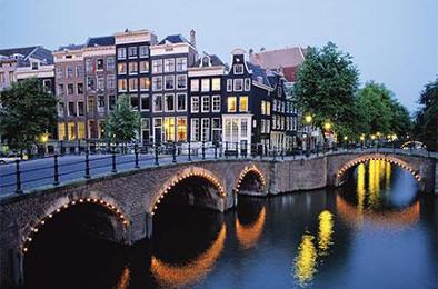 Bridges in Amsterdam, Netherlands