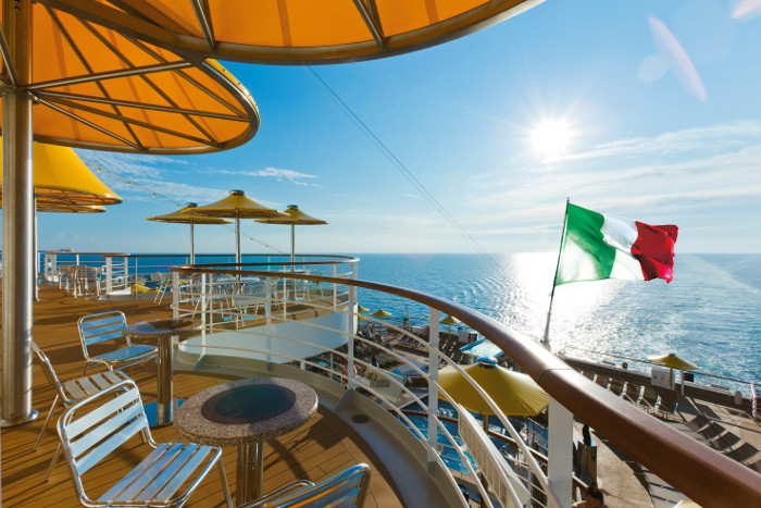Costa Cruises Deck