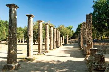 Katakolon, also known as Olympia, Greece.
