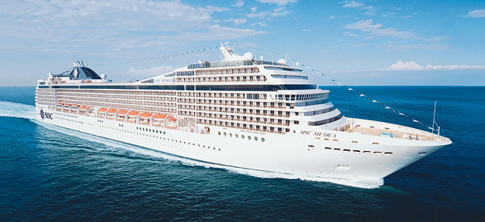 Msc Musica New Grand Voyages 2018 And 2019
