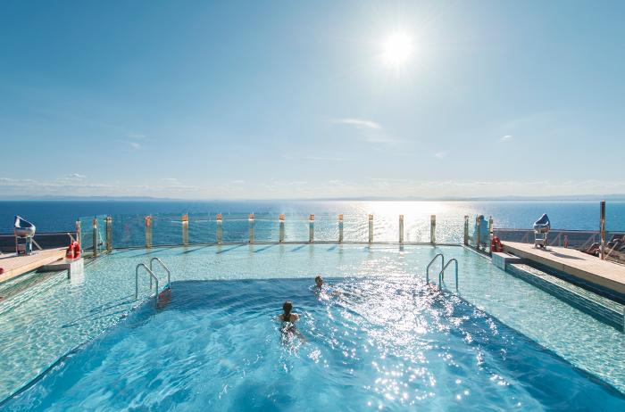 Garden Pool or Infinity Pool on the MSC Preziosa