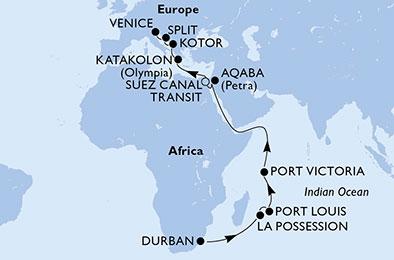 Northbound Grand Voyage