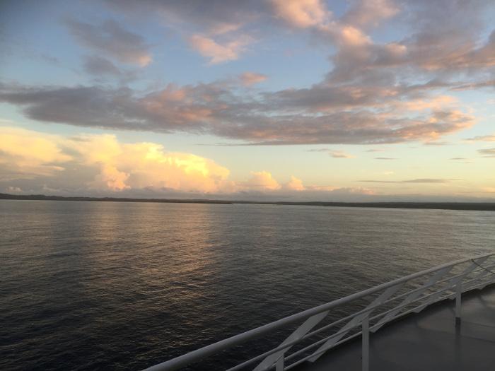 Sunset deck 12, MSC Sinfonia