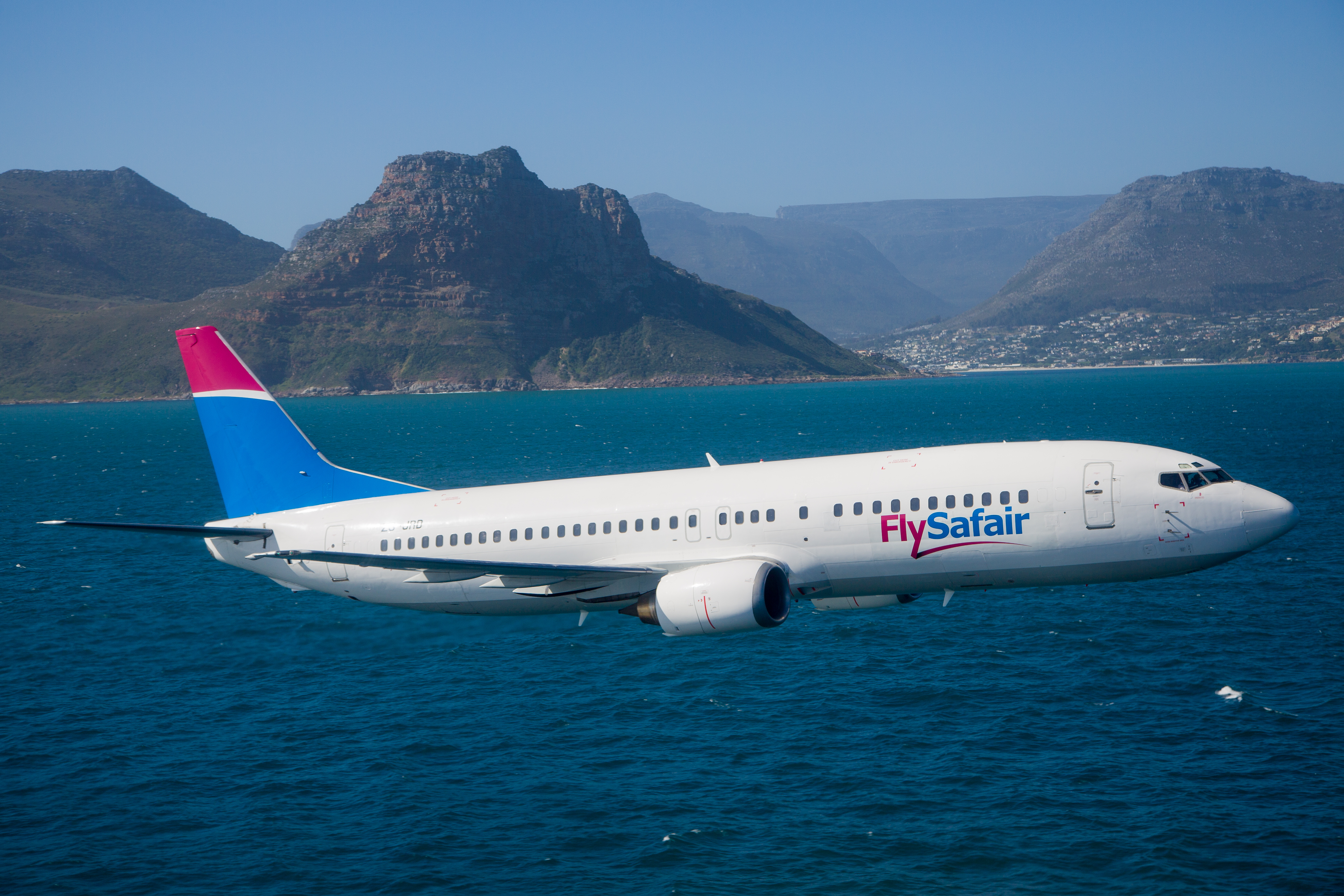 FlySafair Airplane In Cape Town