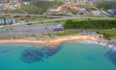 Mossel Bay from the air