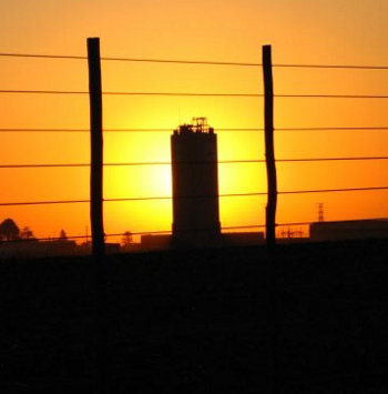 sunset in Gauteng (Midrand, Johannesburg)