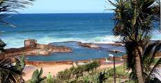 Salt Rock tidal pool, near Durban