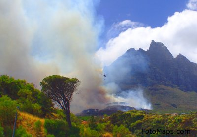 Fires In The Western Cape