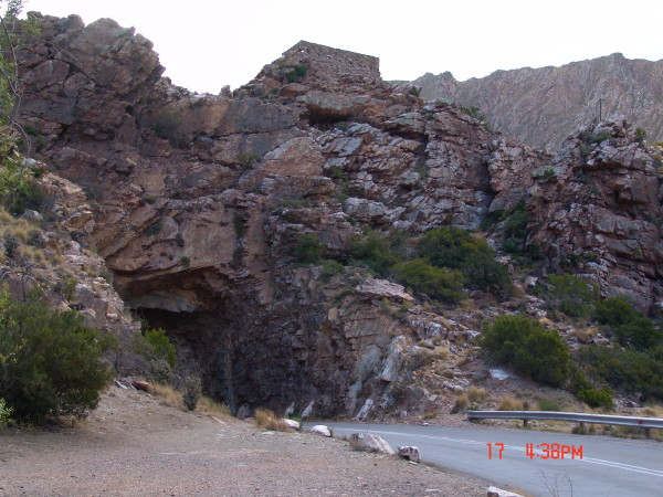 The old English Fort on the way to Montagu