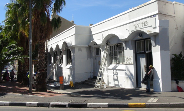 Long Street Baths in Cape Town