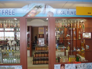 Duty Free alcohol