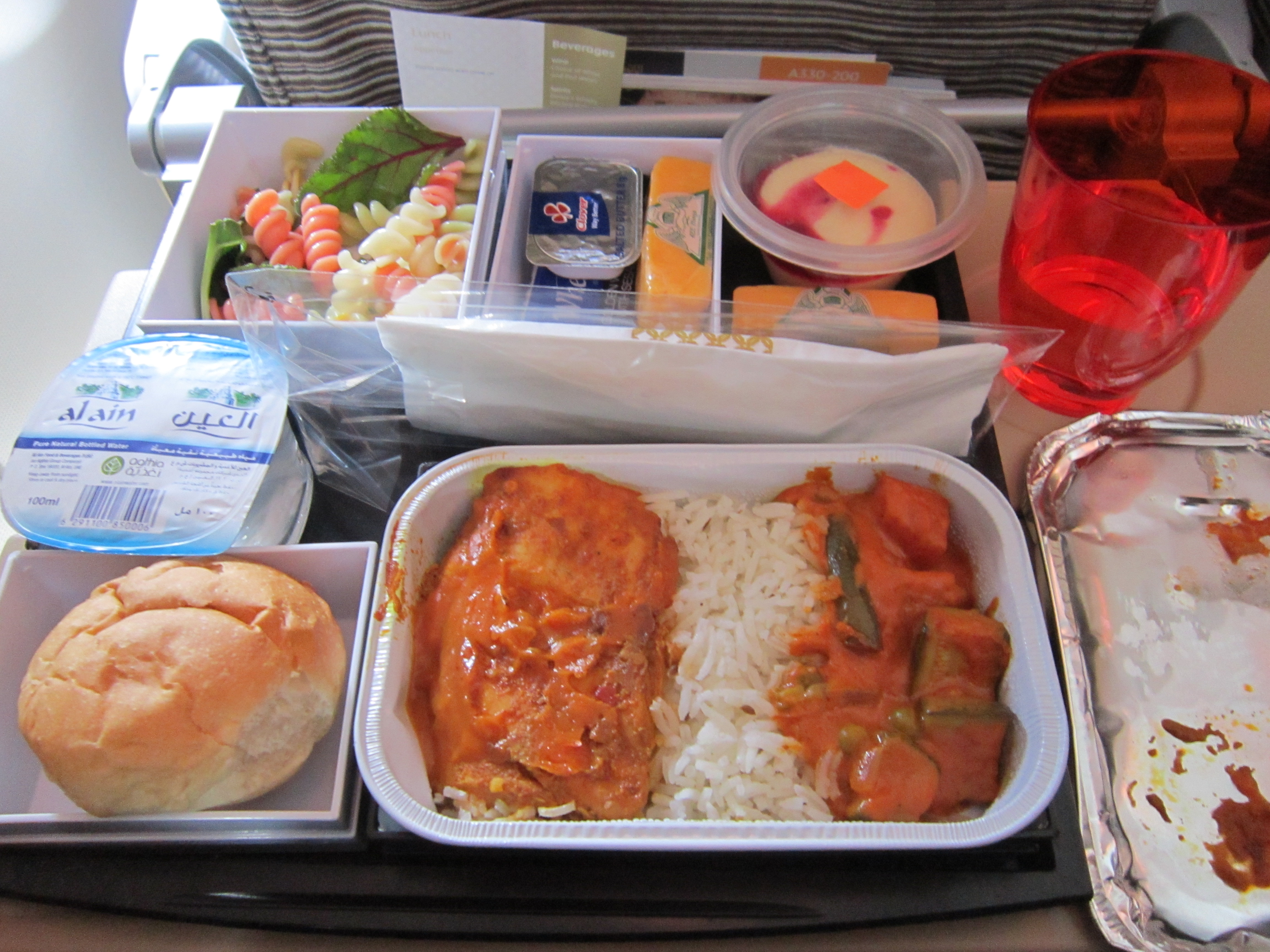 Pic my etihad pearl business class seat 9h on b777 300er may 2012 - Etihad Airline Economy Class Meal