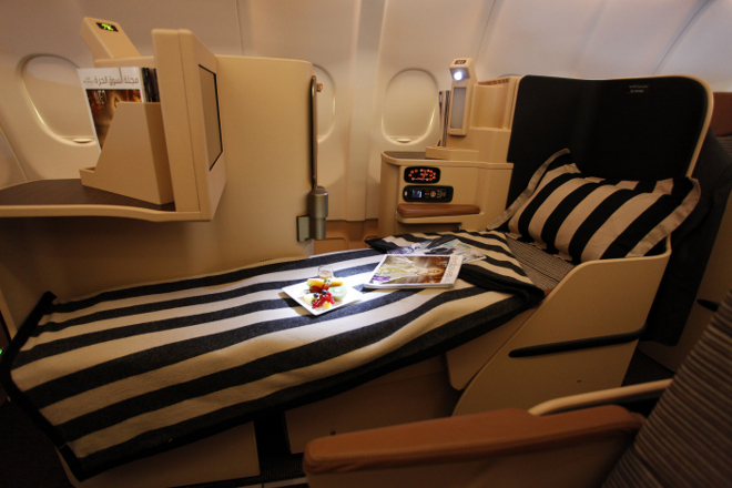 Emirates a380 seating plan business class