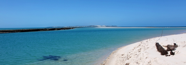 Bay in Mozambique