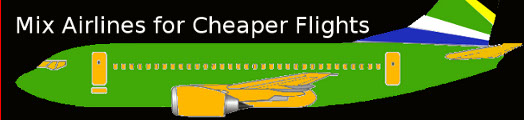 Mix your airlines for cheaper flights - Kulula, SAA & Mango Airlines