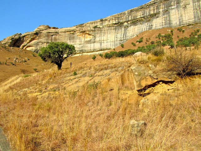 Golden Gate National Park near Bloemfontein