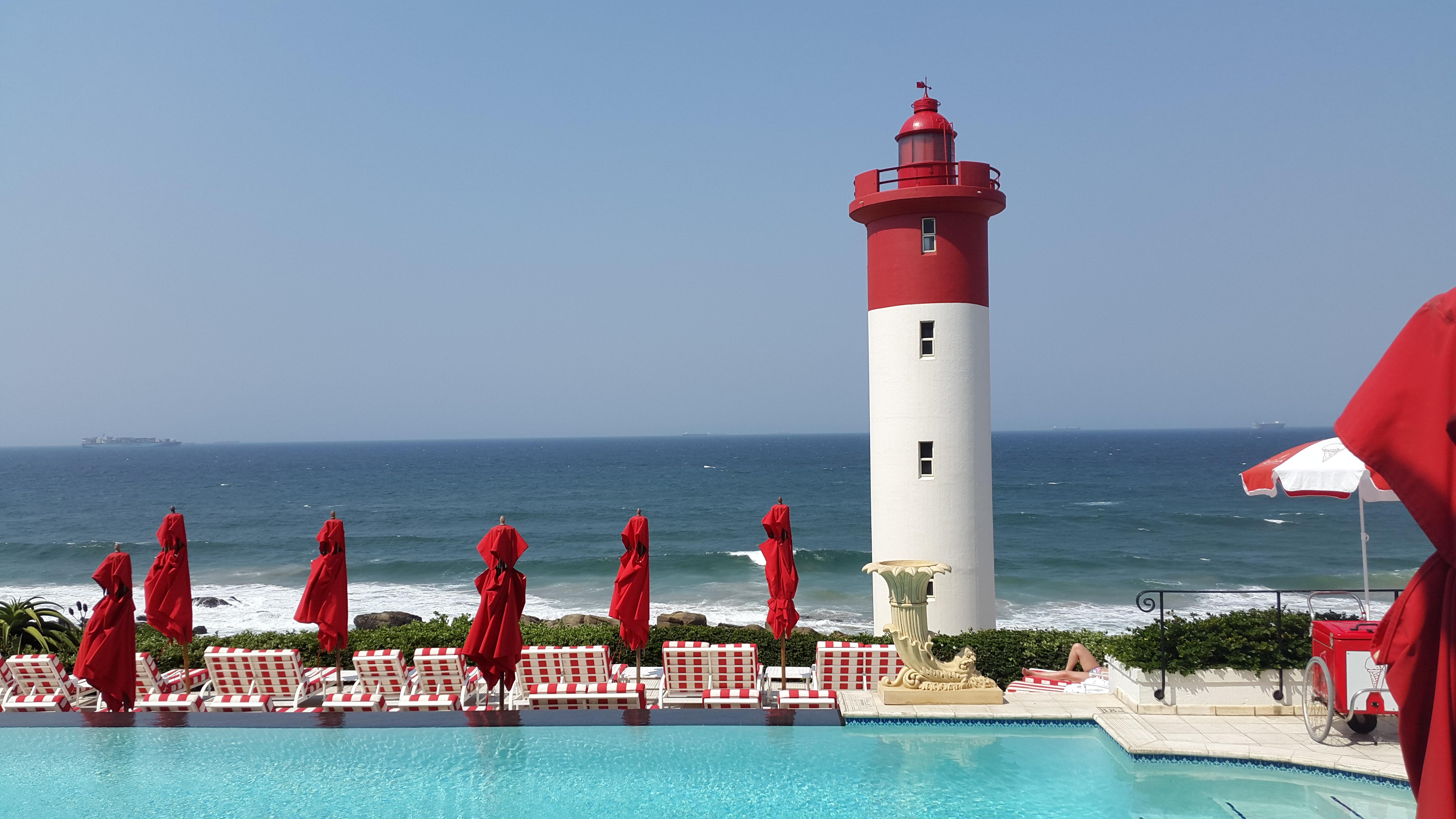 Lighthouse at Umhlanga Rocks, Durban