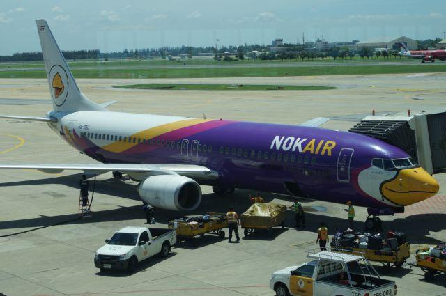 A Nok Air airplane