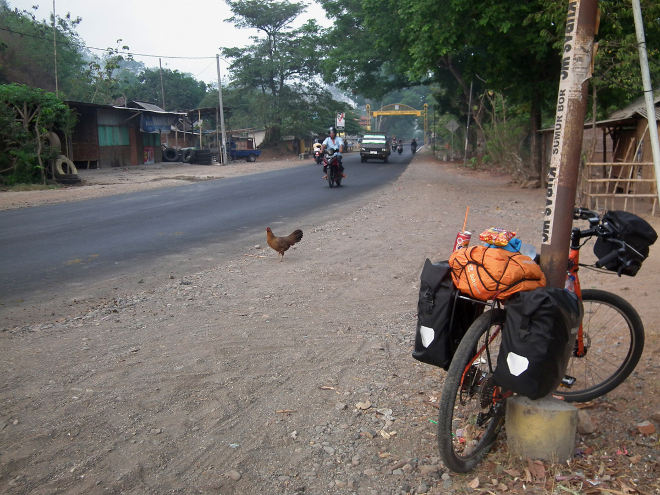 bicycle in Indonesia