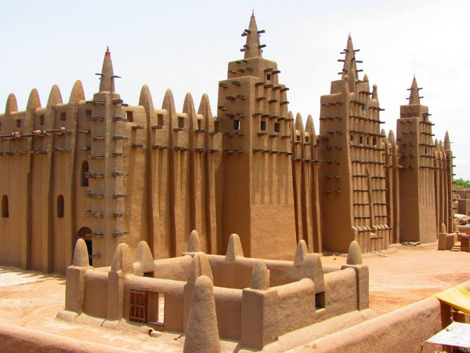 Grand Mosque in Mali