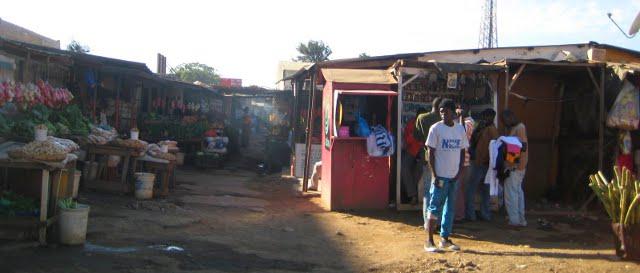 street scene in Lusaka
