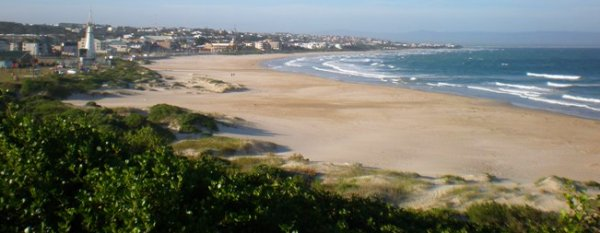 Jeffreys Bay's beach
