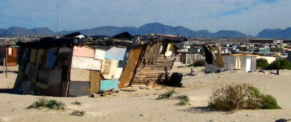 Shack in a Cape Town township