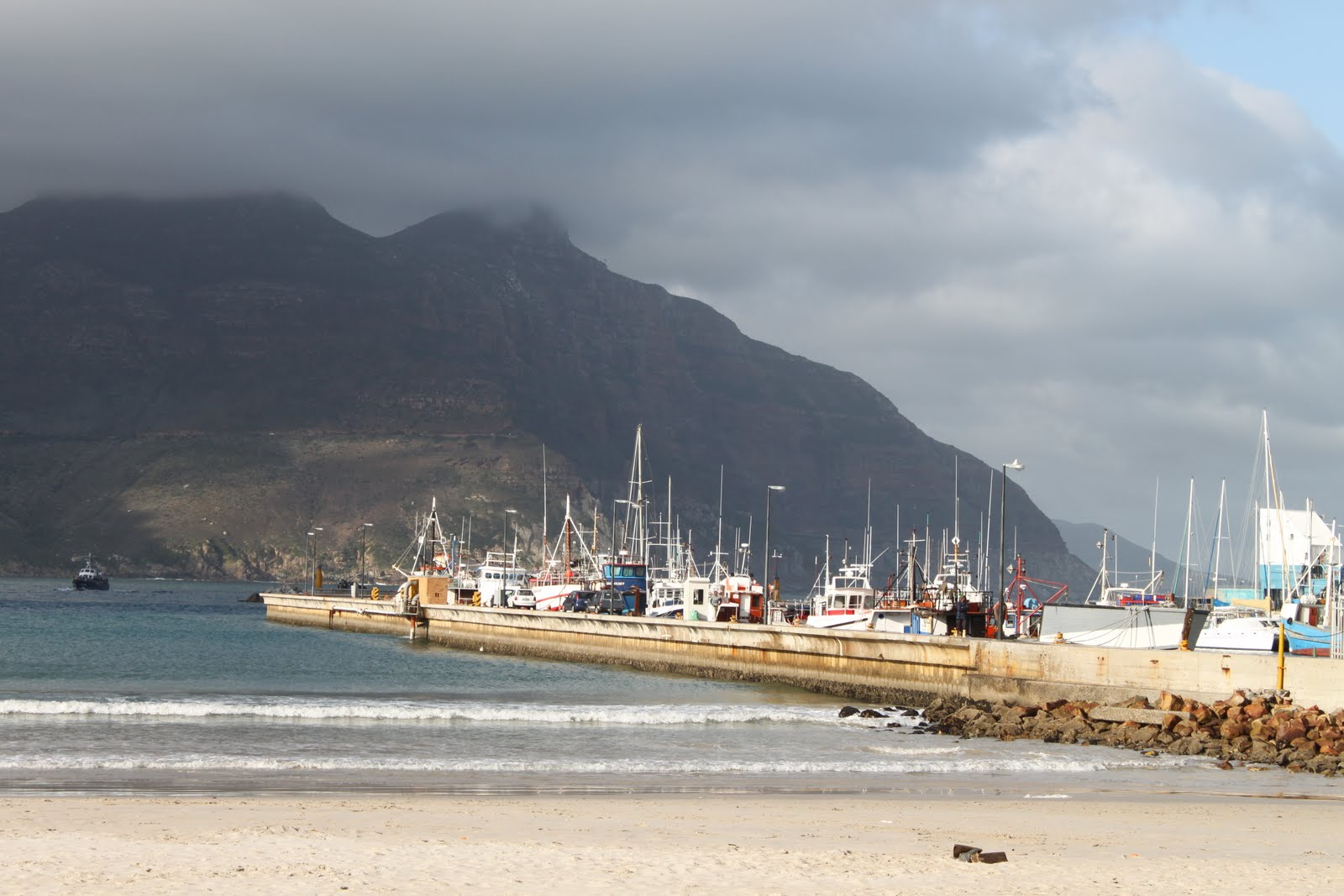 Hout Bay harbour in Cape Town