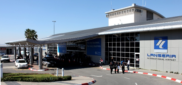 A view of Lanseria Airport's entrance