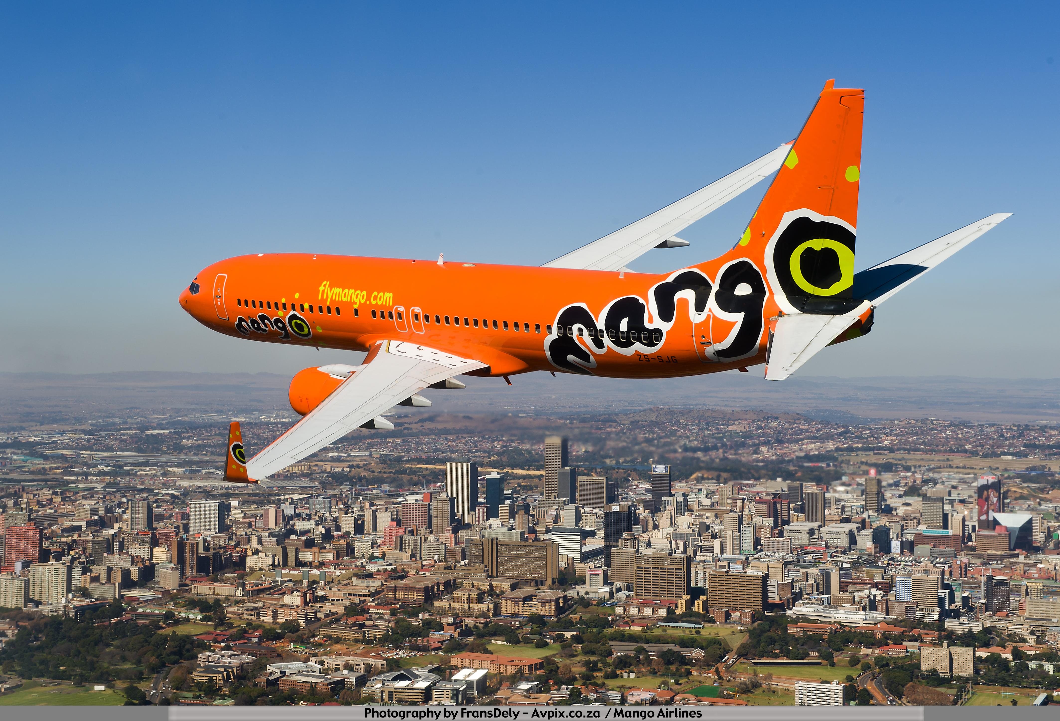 Mango Airlines ... Lanseria
