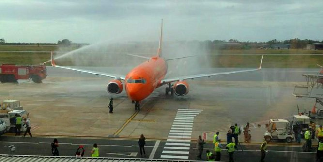 Mango Airlines' first flight to Port Elizabeth