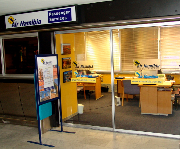Air Namibia Passenger Services at Cape Town International Airport