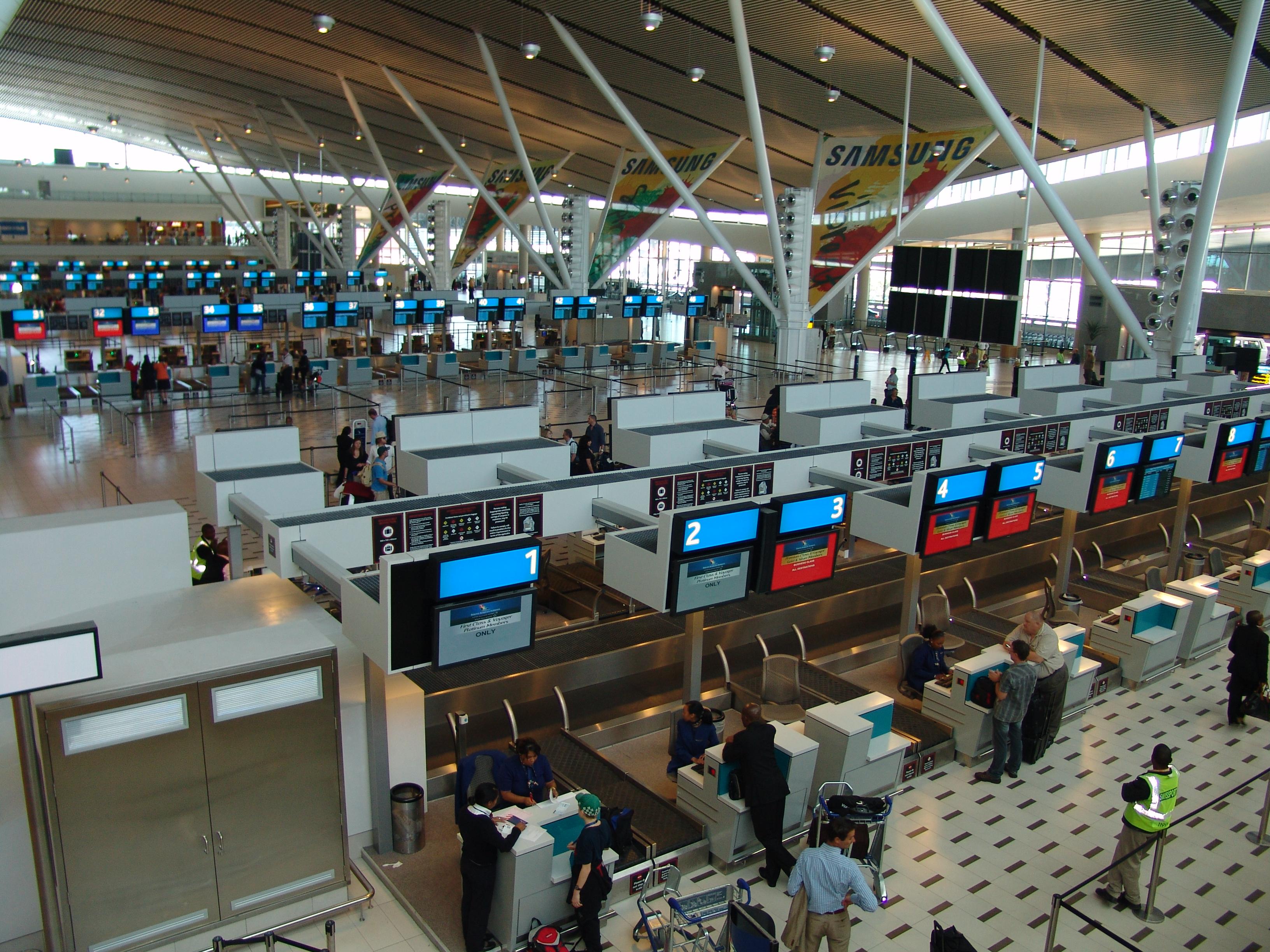 Aeroporto Johannesburg : Cape town international aiport flights cpt