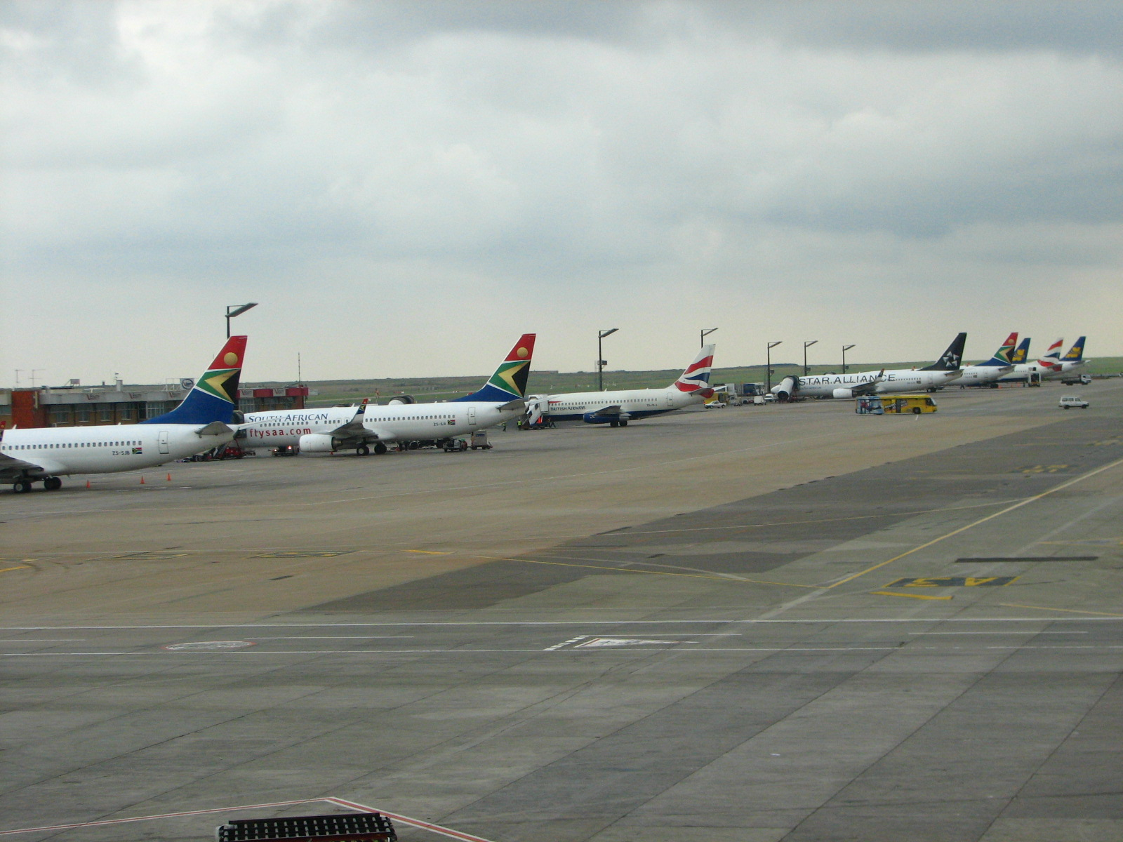 Johannesburg Airport O.R.Tambo (Johannesburg OR Tambo International Airport) .2
