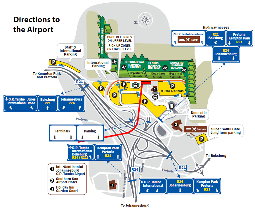 OR Tambo International Airport Flight Bookings  JNB