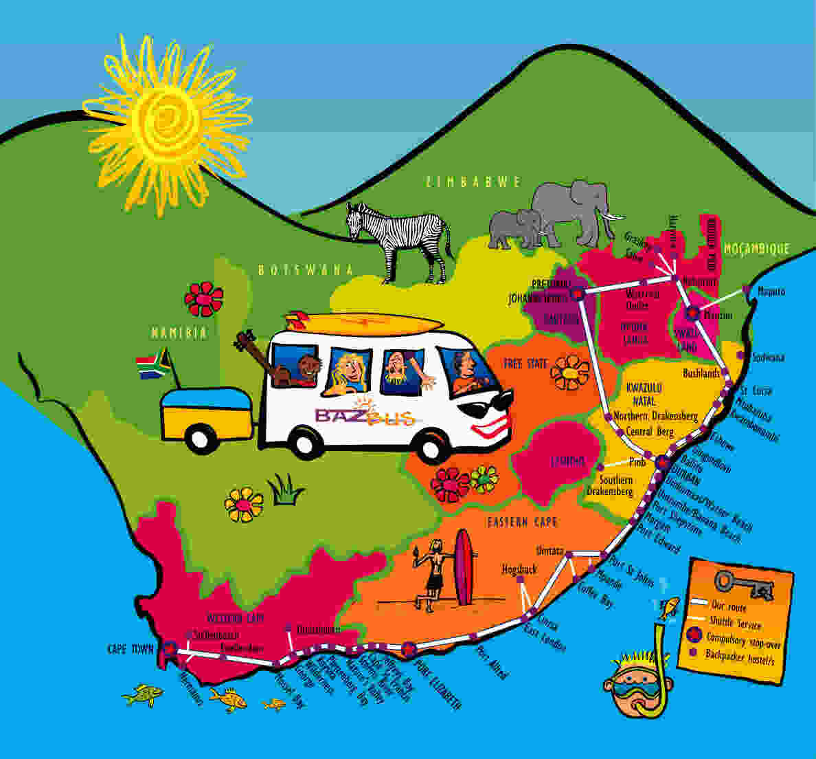 Baz Bus A South African Treasure